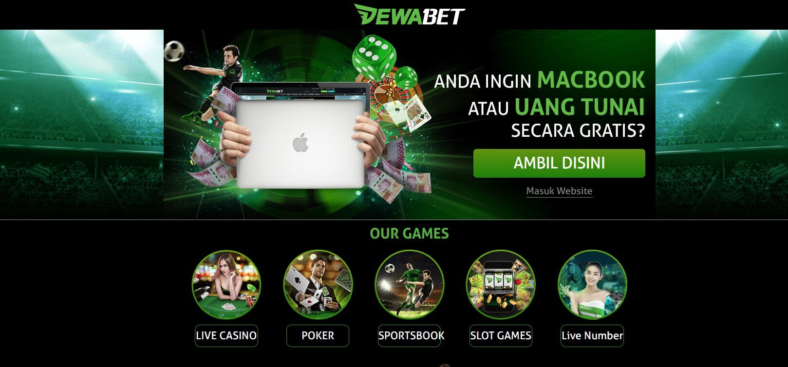 link alternatif dewabet