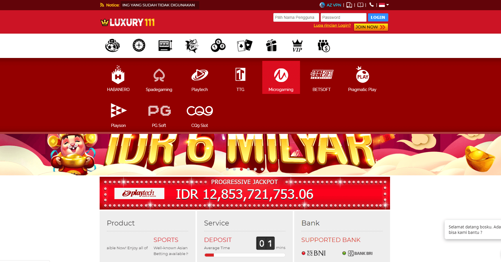 Link alternatif luxury111