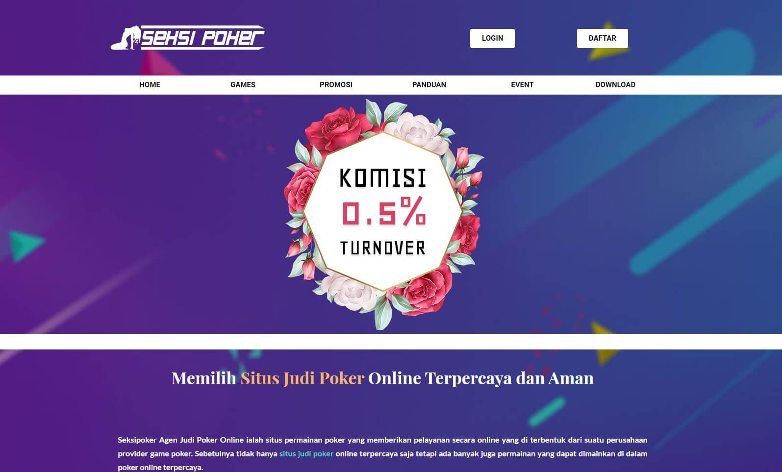 link alternatif seksipoker