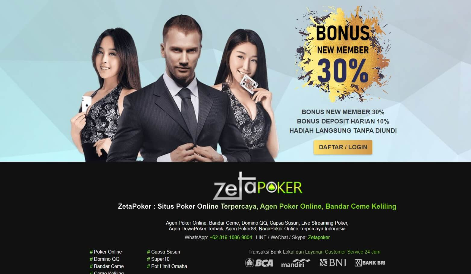 Link alternatif zetapoker