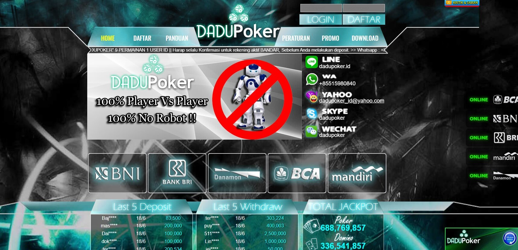link alternatif dadupoker